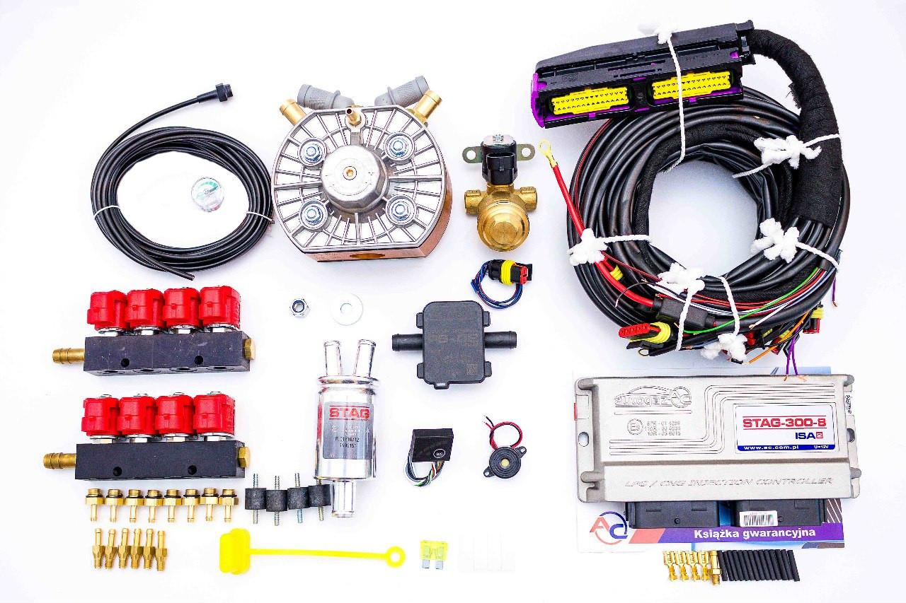 газовое оборудование stag для автомобиля краснодаре